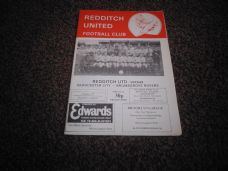Redditch United v Gloucester City [FAT]/ Bromsgrove Rovers, 1985/86